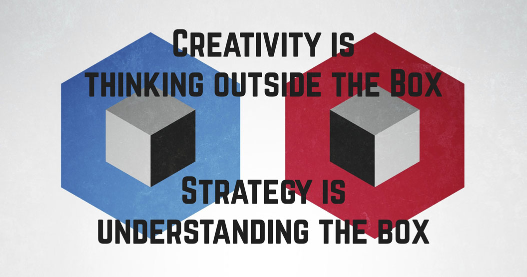 Think outside the box with your brand - Melbourne Branding Consultant